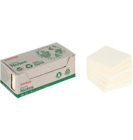 STAPLES Haftnotiz stickies™ RC, 76 x 76 mm, gelb, 100 Blatt