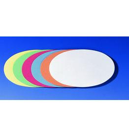 FRANKEN Moderationsetikett, Oval, sk, 19 x 11 cm, sortiert