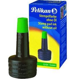 Pelikan Stempelfarbe, ohne Öl, Typ: 4 K, Verstreicherflasche, grün