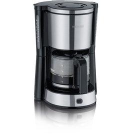 SEVERIN Kaffeemaschine KA 4822, 1,25 l, für: 10 Tassen, edelstahl/schwarz