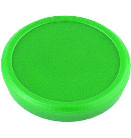 ALCO Magnet, rund, Ø: 32 mm, 7 mm, Haftkraft: 800 g, grün