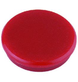 ALCO Magnet, rund, Ø: 32 mm, 7 mm, Haftkraft: 800 g, rot