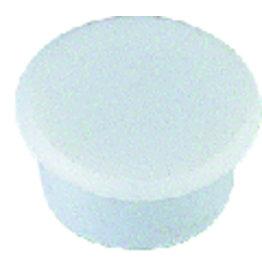 ALCO Magnet, rund, Ø: 32 mm, 7 mm, Haftkraft: 800 g, weiß