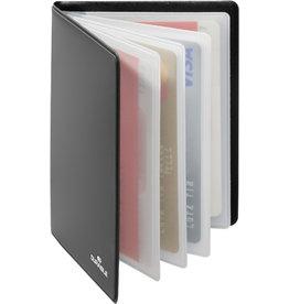 DURABLE Ausweishülle RFID SECURE, i: 5,4x8,6cm, anthrazit, für: 8 Kreditkarten