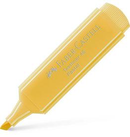 FABER-CASTELL Textmarker Textliner 46, Pastel, Ksp., Schreibf.: vanille