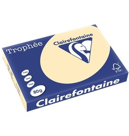 Clairefontaine Multifunktionspapier Trophée, A3, 80 g/m², hf, chamois, pastell