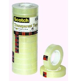 Scotch Klebeband 550, sk, 12mmx33m, transparent