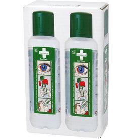 CEDERROTH Augendusche, sterile, gepufferte Kochsalzlösung, 2 x 500 ml