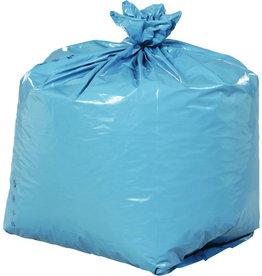 Müllsack extrastark, LDPE, 0,09mm, 240l, 650x550x1.350mm, blau
