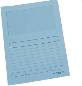 Pressel Aktendeckel, Papier, 120 g/m², A4, 22 x 31 cm, blau, pastell