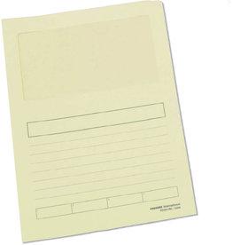 Pressel Aktendeckel, Papier, 120 g/m², A4, 22 x 31 cm, gelb, pastell
