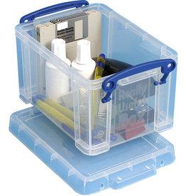 Really Useful Box Aufbewahrungsbox, PP, 1,6 l, 19,5 x 13,5 x 11 cm, farblos, tr