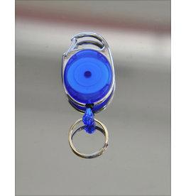 IDENTA Ausweishalter Jojo, ausziehbar auf: 60cm, blau