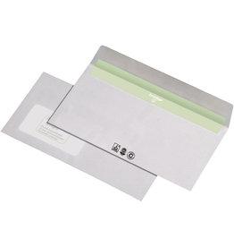 Envirelope Briefumschlag, m.Fe., hk, DL, 220x110mm, 80g/m², RC, weiß