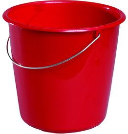 Meiko Eimer, Kst., ohne Ausgießer, rund, 5l, rot