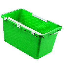 Unger Eimer, Kunststoff, mit Ausgießer, eckig, 18 l, grün