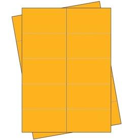 Pressel Etikett, Handbeschriftung, selbstklebend, permanent, 68 x 35 mm, gelb