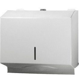 racon Handtuchspender, S, Metall, abschließbar, für: 250 - 400 Tücher, weiß