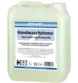 ROLAND Handwaschcreme, Kanister, parfümfrei, weiß
