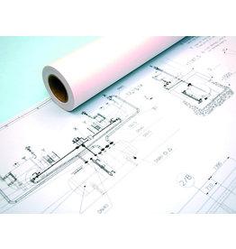 OCE Inkjetpapier Draft IJM009, 914mmx50m, 80g/m², weiß