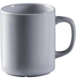 Kaffeebecher, System, Porz., rund, 300ml, weiß [6st]