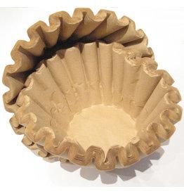 BRAVILOR BONAMAT Kaffeefiltertüte, 7.151.101.108, 84/250 mm, braun [4st]