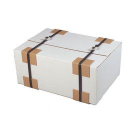 Pressel Kantenschutz, Karton, 3 mm, 50 x 50 mm, L: 0,08 m, braun