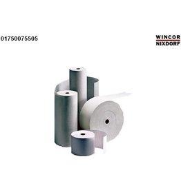 DIEBOLD NIXDORF Kassenrolle, 80mmx80m, Kern-Ø: 12mm, 55g/m², weiß