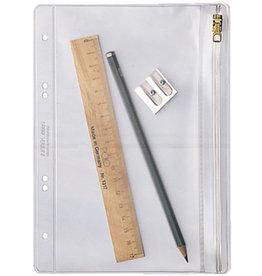 LEITZ Kleinkrambeutel, PVC-Weichfolie, Standardlochung, A5, 0,2mm, farblos