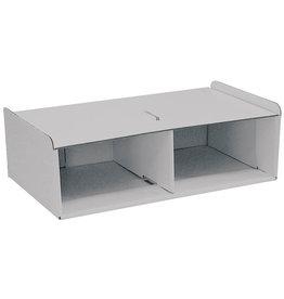 Pressel Korpus, zum Aufstellen, ohne Schublade, 262x446x145mm, grau