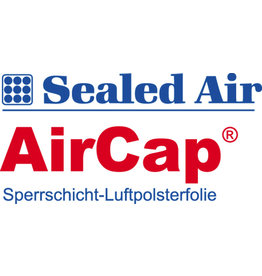 AirCap Luftpolsterfolie, Polyethylen, kleinnoppig, 3lagig, 120 cm x 100 m