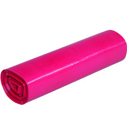 Müllsack standard, LDPE, 0,037mm, 70l, 575x1.000mm, rot