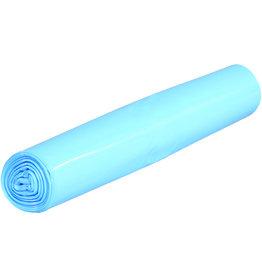 Müllsack stark, LDPE, 0,04mm, 70l, 575x1.000mm, blau