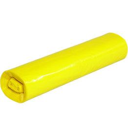 Müllsack stark, LDPE, 0,04mm, 70l, 575x1.000mm, gelb