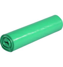 Müllsack stark, LDPE, 0,04mm, 70l, 575x1.000mm, grün