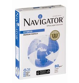 NAVIGATOR Multifunktionspapier HYBRID, A4, 80g/m², RC, weiß