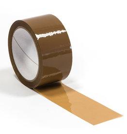 Pressel Packband, PP, selbstklebend, 50 mm x 66 m, braun