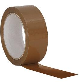 Packband, PP, sk, 38 mm x 66 m, braun