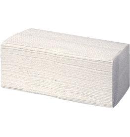 racon Papierhandtuch, Krepp(RC), ZZ-Falz., 20x250 Tü., 25x23cm, weiß