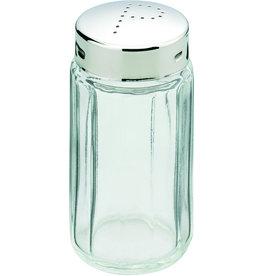 Pfefferstreuer, Glas, farbl., tr