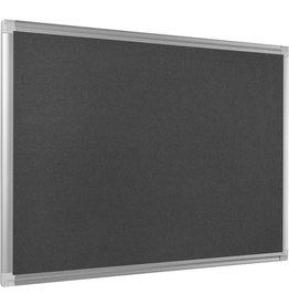 Bi-Office Pinntafel NEW GENERATION MAYA, Filz, ohne Ablageschale, 90x60cm, grau