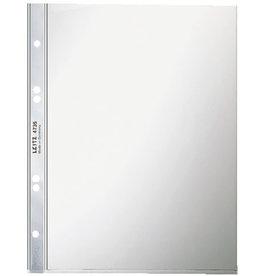 LEITZ Prospekthülle Super Premium, oben offen, Universallochung, A5