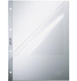 LEITZ Prospekthülle, PP, oben / Lochseite offen, A4, 0,12mm, farblos