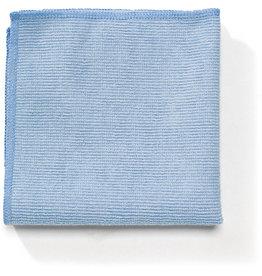 RubbermaidCommercial Products Reinigungstuch Professional, Mikrofaser, 40,6 x 40,6 cm, blau
