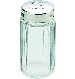 Salzstreuer, Glas, farbl., tr