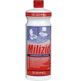 Milizid Sanitärreiniger, flüssig, Flasche