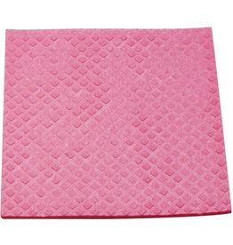 Meiko Schwammtuch, feucht, Maschinenwäsche 60° C, 18 x 20 cm, rosa