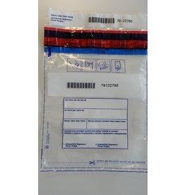 DEBATIN Sicherheitstasche DEBASAFE™, 0,05 mm, 195 x 265 + 30 mm, transparent
