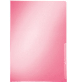 LEITZ Sichthülle Premium, PVC-Hartfolie, A4, 0,15mm, rot, glatt
