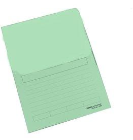 Pressel Sichtmappe, Karton, A4, 22 x 31 cm, grün, pastell